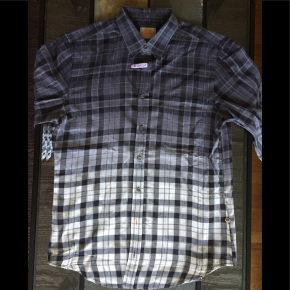 5b4fb5917 Hugo Boss Shirts | Flannel Shirt Medium | Poshmark